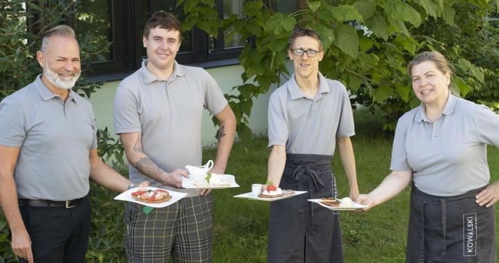 Waffel Quartett Mitarbeiter